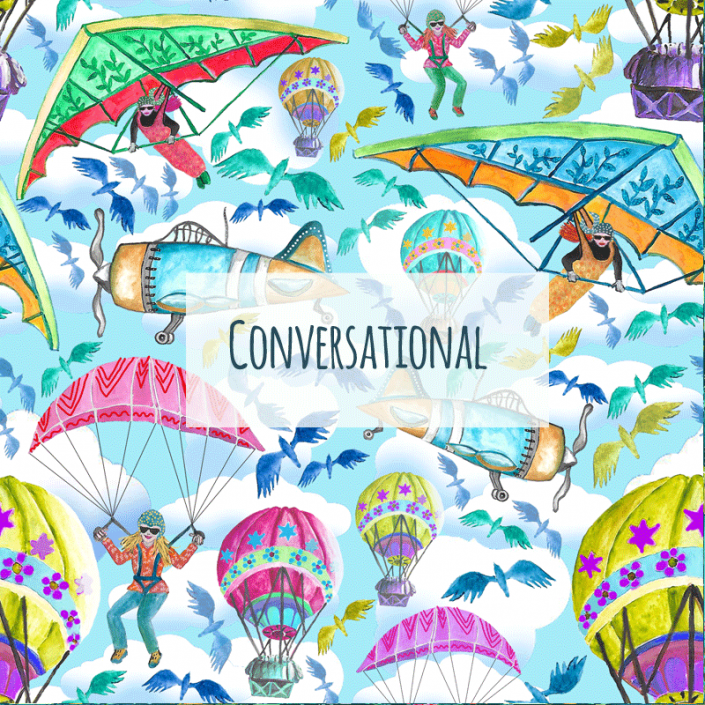 Susanne Mason design, conversational