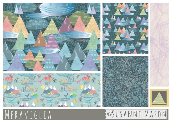 Meraviglia, Susanne Mason design