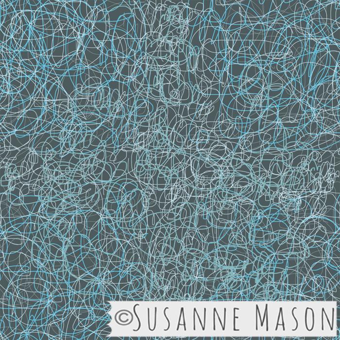 Susanne Mason design, scribble