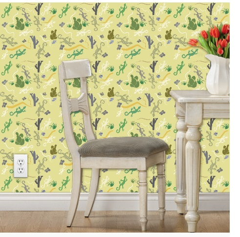 Susanne Mason design, Yucatan wallpaper