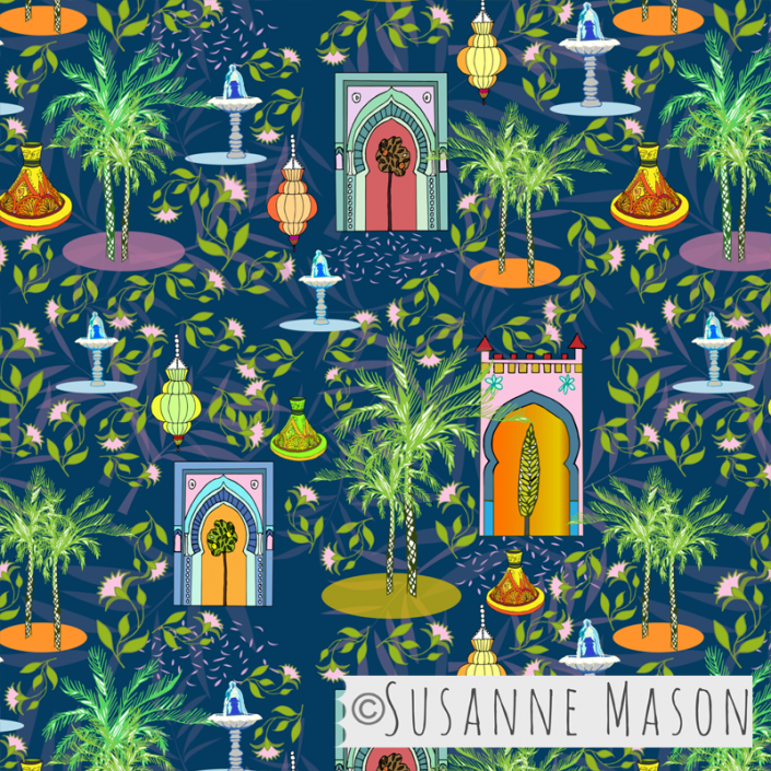 Marrakech, Susanne mason design
