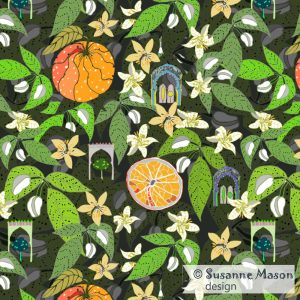 Susanne Mason design, one of the final Spanish Garden patterns