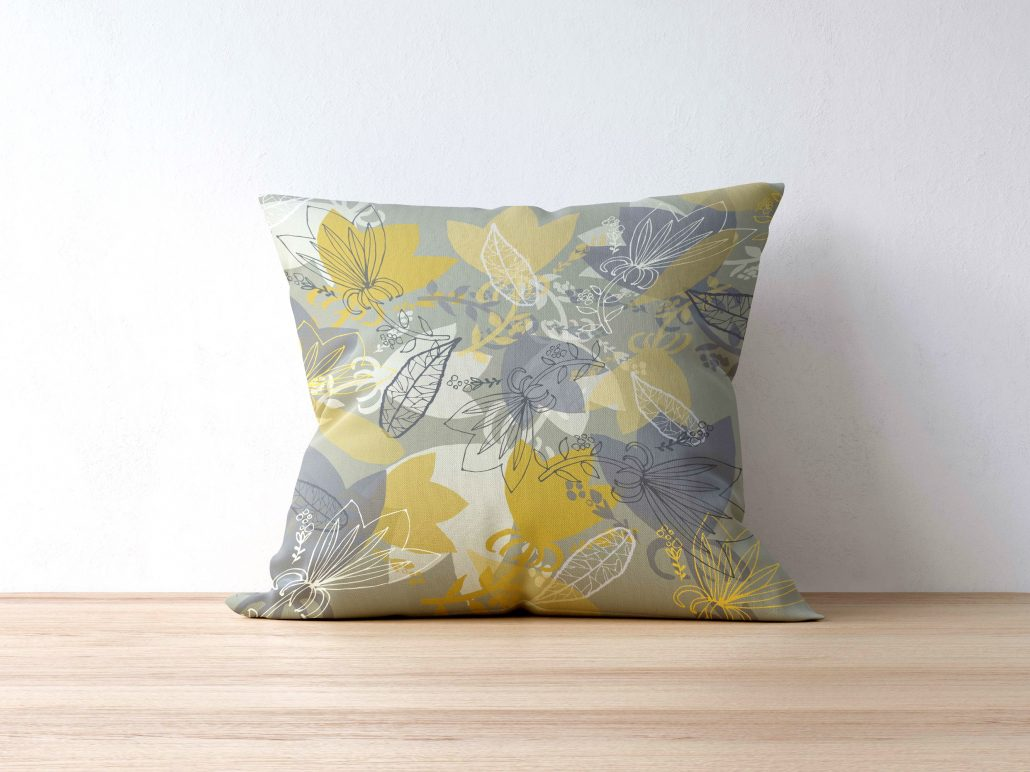 Pillow with Morning Light pattern
