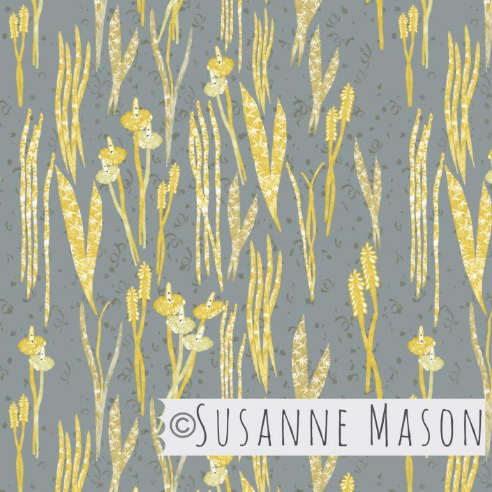 Shimmering Grass, Susanne Mason Design