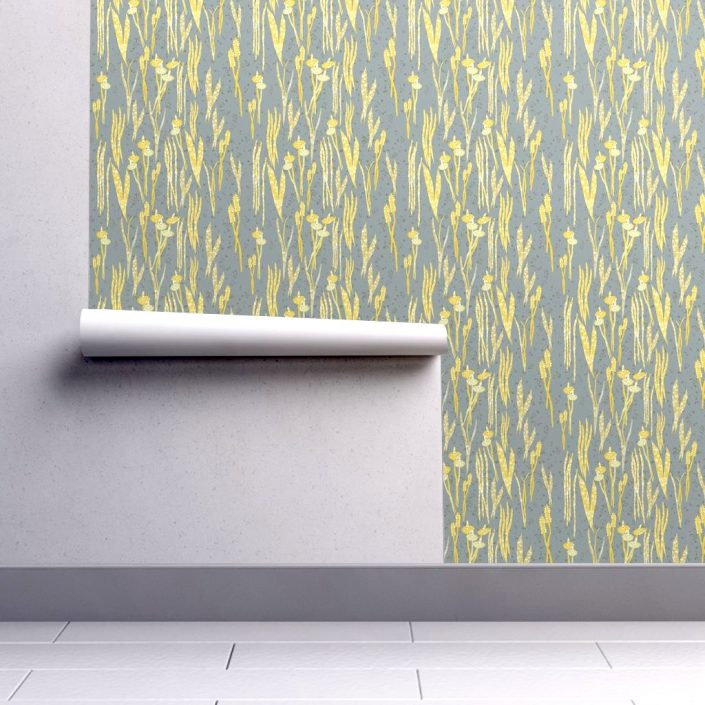 Shimmering Grass, wallpaper