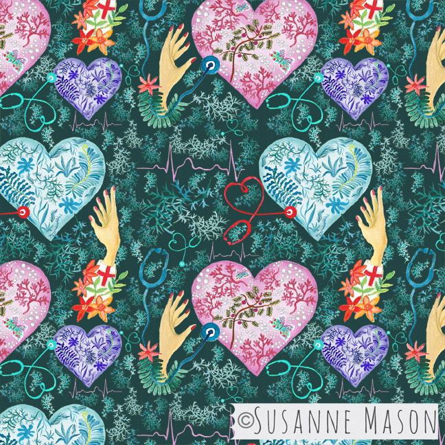 Listen to your Heart, Susanne Mason design