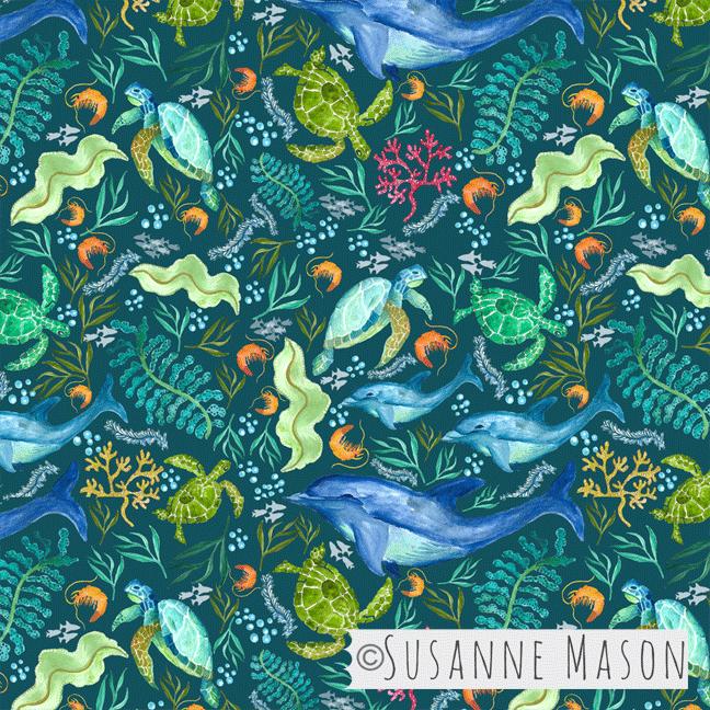 Susanne Mason design, ocean universe