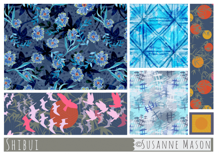 Shibui Pattern Collection, Susanne Mason design