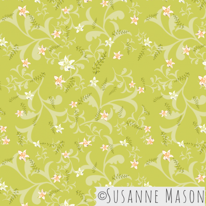 Blossoms, Susanne Mason design