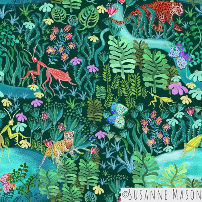 Magic Woods by Susanne Mason design