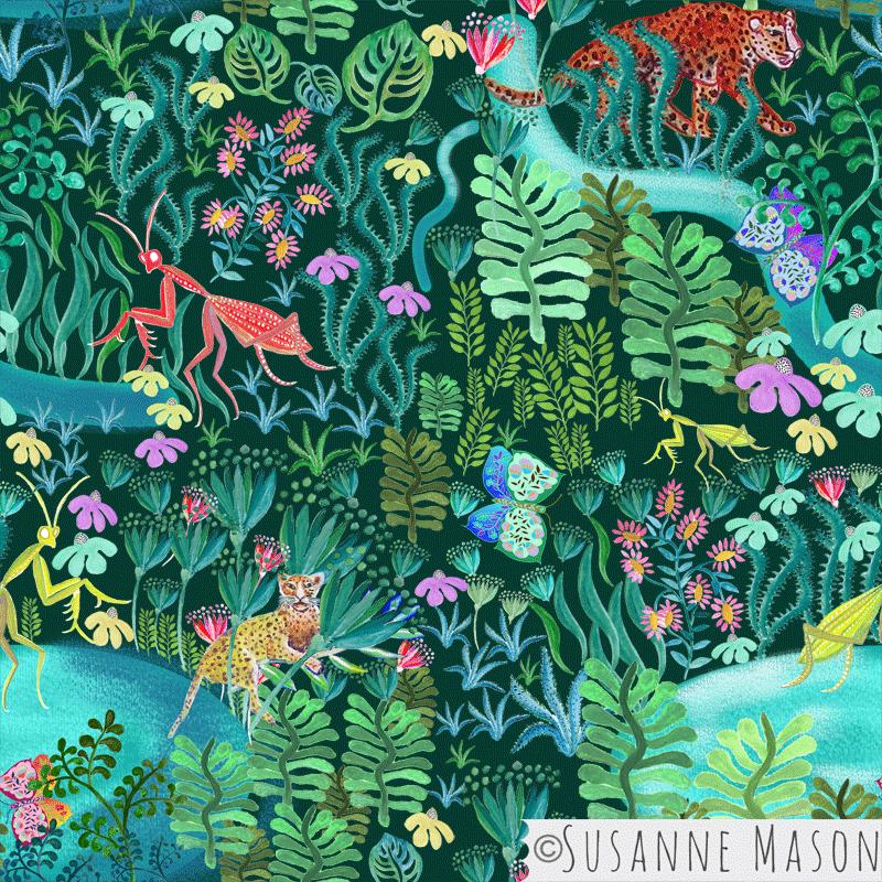 Magic Woods by Susanne Mason design
