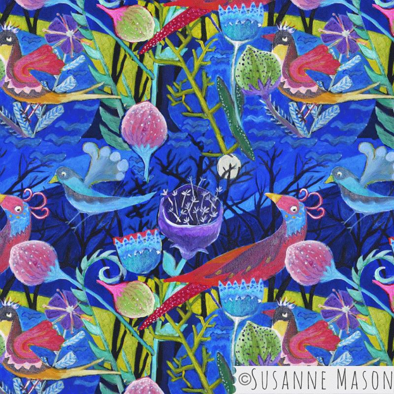 Midnight, Susanne Mason design