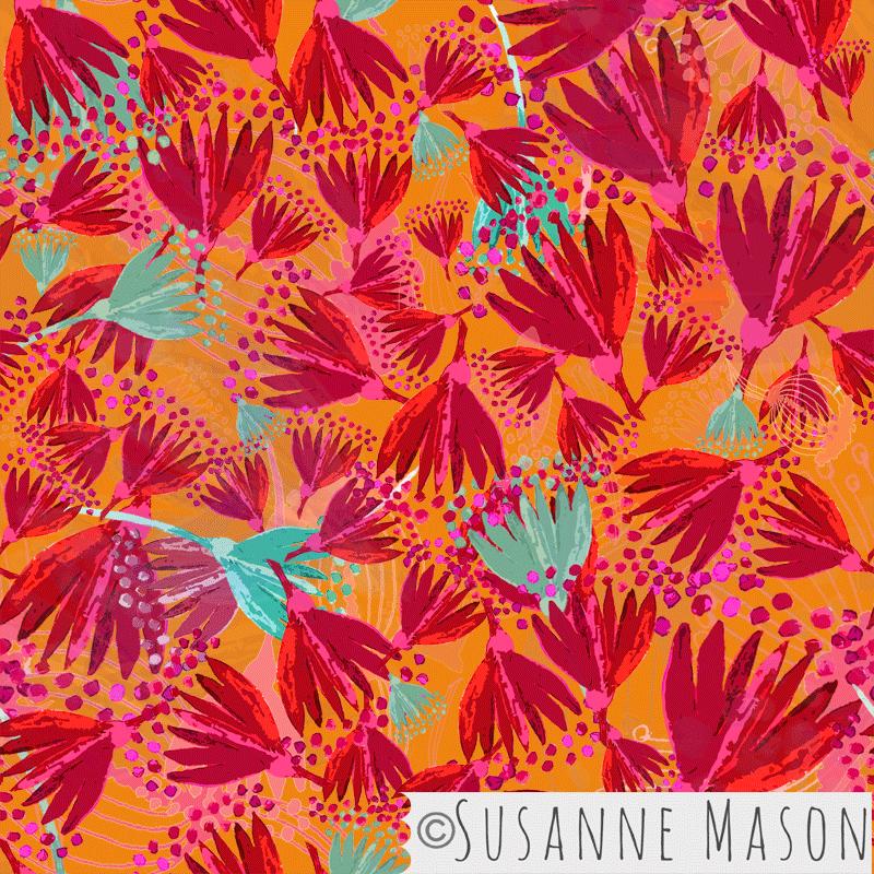 Midnight Special Orange, Susanne Mason design