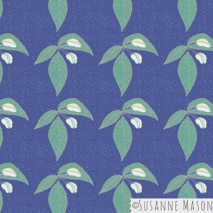 Night Blossoms, Susanne Mason design
