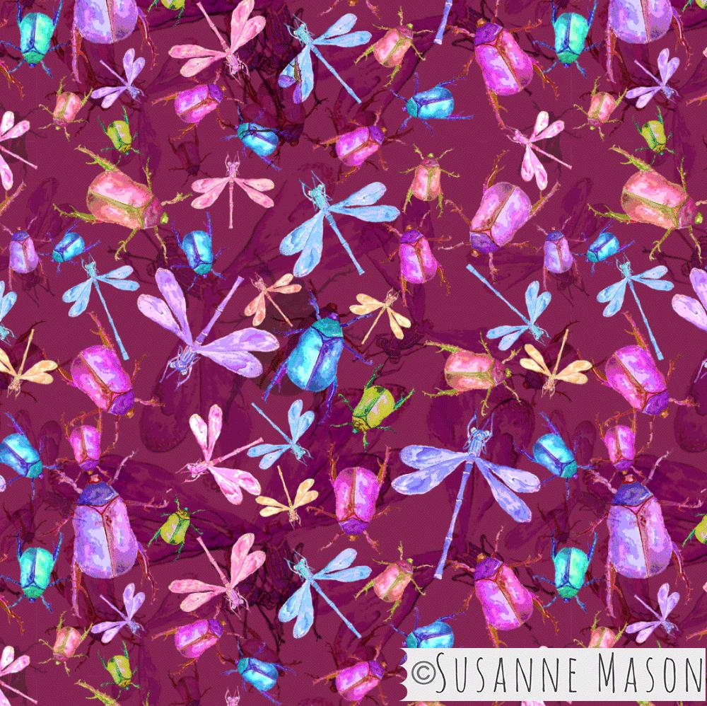 Rainforest Bugs, Susanne Mason design