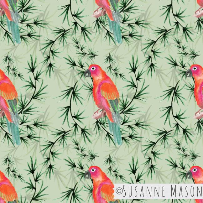 Parrot, Susanne Mason design