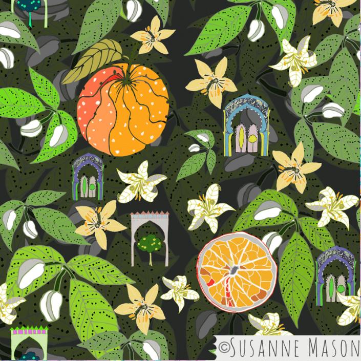 Spanish Gardens, Susanne Mason design