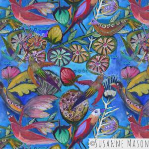Wild Birds, Susanne Mason design