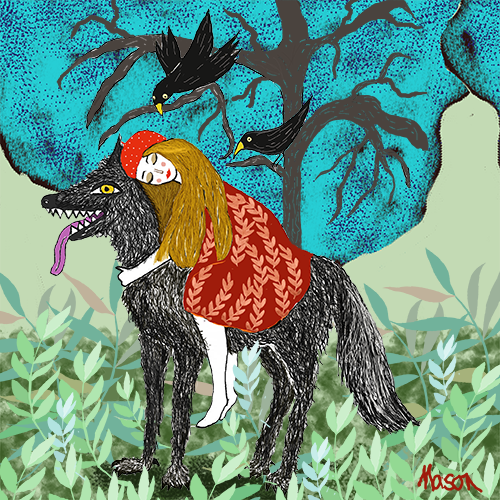 Little Red riding Hood, by Susanne Mason