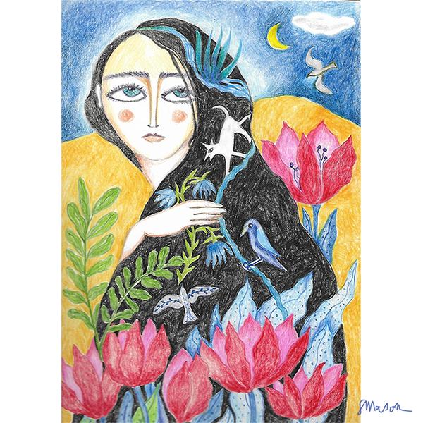 Desert blooms, by Susanne Mason