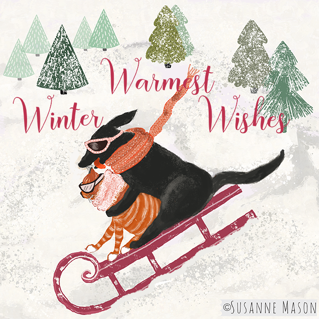 Warmest winter wishes, by Susanne Mason