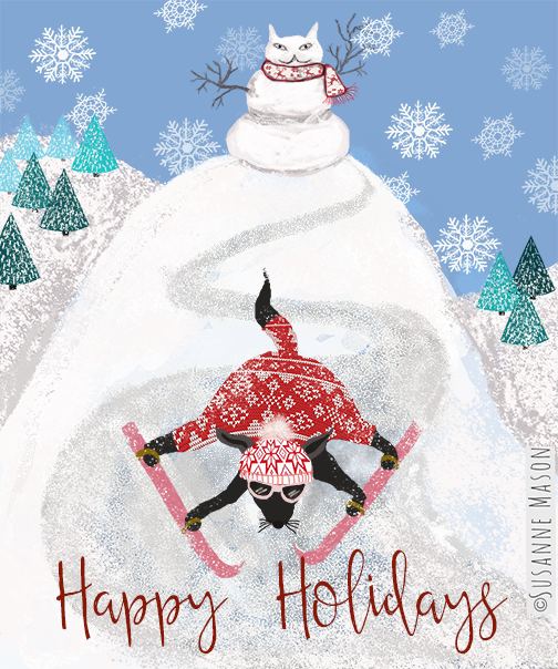 Happy holidays, by Susanne Mason