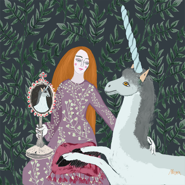 The Lady with the Unicorn, by Susanne Mason