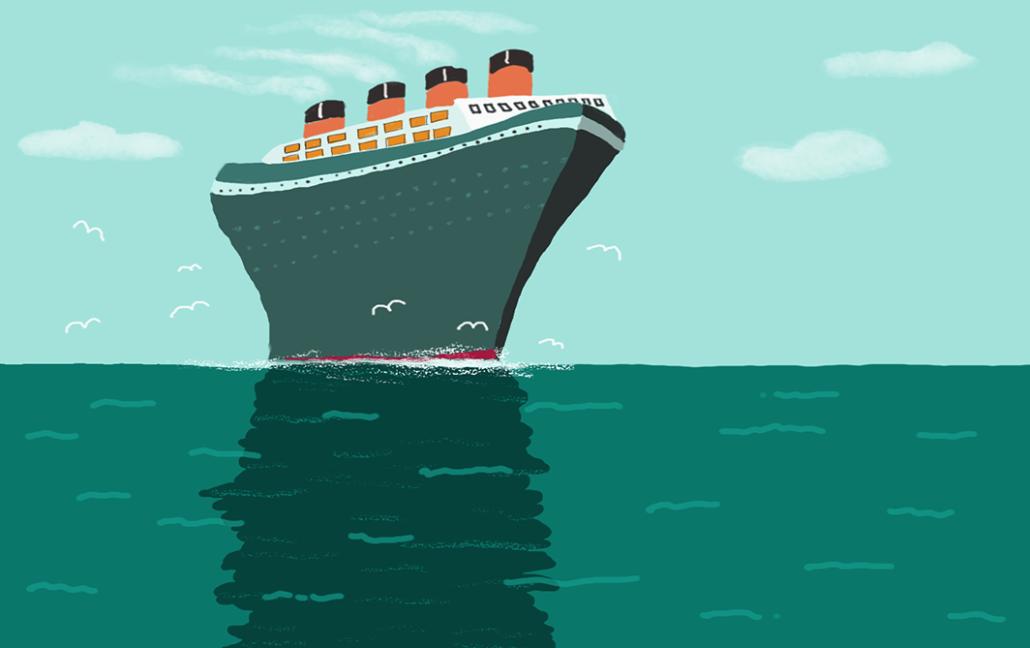 cruise ship by Susanne Mason