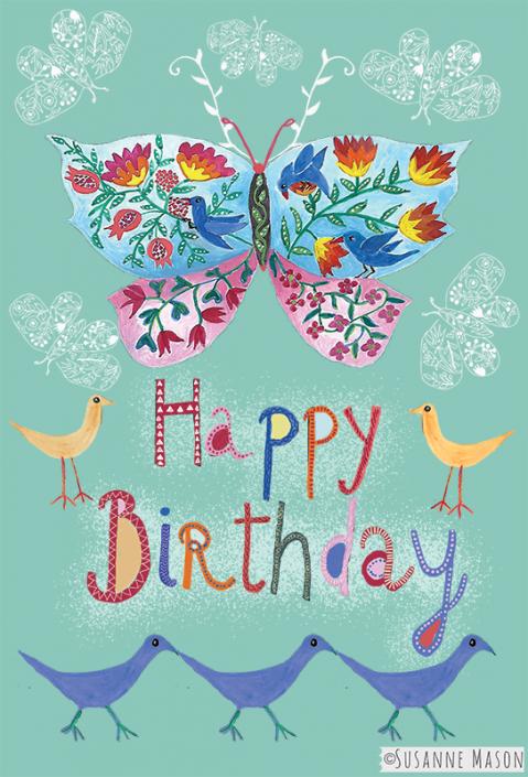 Happy Birthday, by Susanne Mason