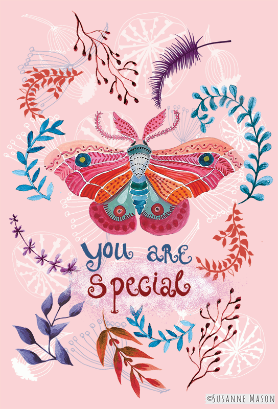 You are special, by Susanne Mason