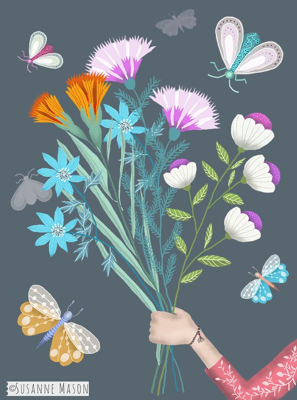 bouquet, by Susanne Mason