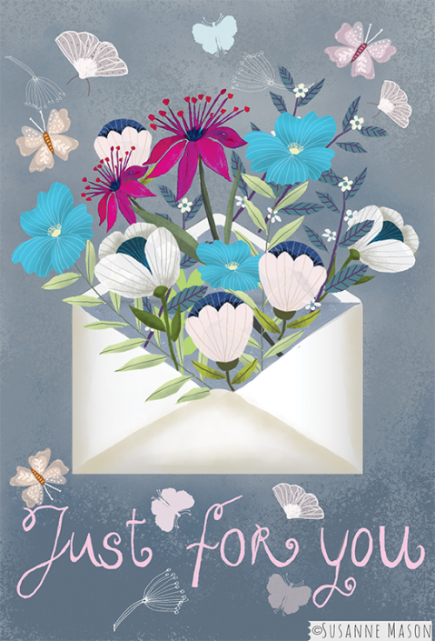 just for you, by Susanne Mason