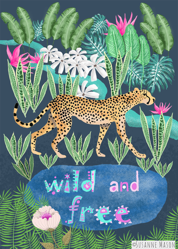 Wild and Free, by Susanne Mason