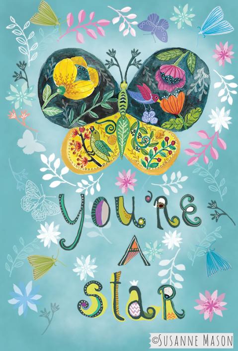 you're a star, by Susanne Mason