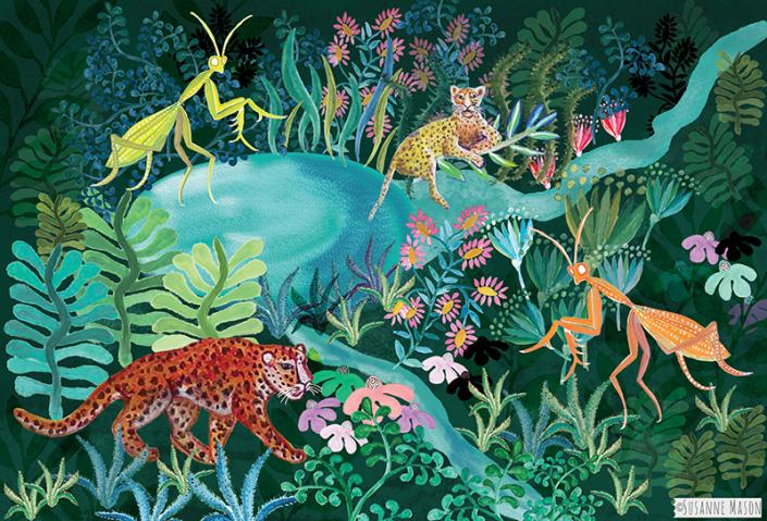 Adventure, illustration by Susanne Mason