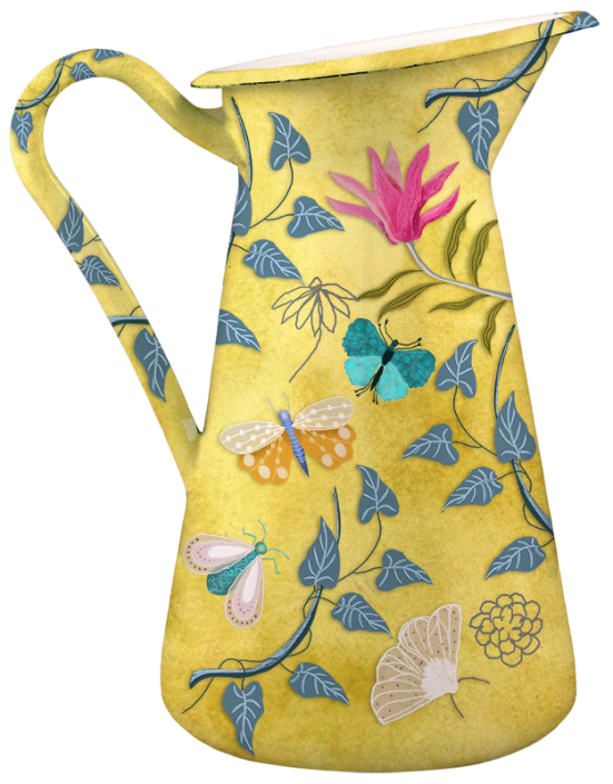 Nostalgia ceramic pitcher, by Susanne Mason