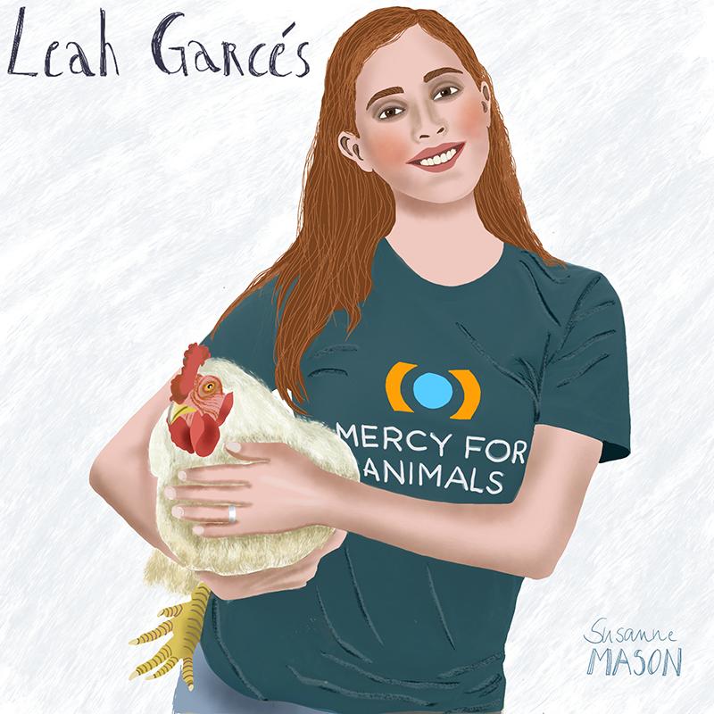 Leah Garces, editorial portrait, by Susanne Mason