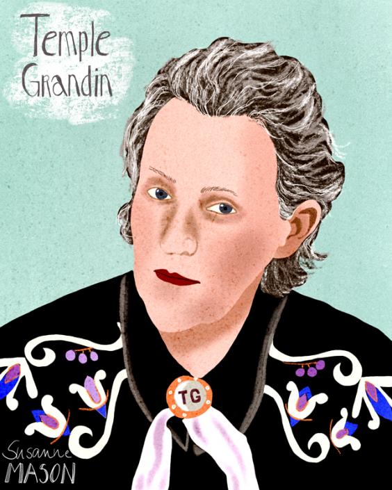 Temple Grandin, by Susanne Mason