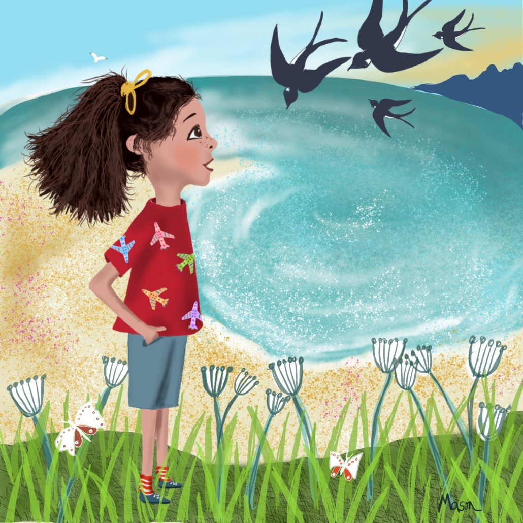 Picture Book illustration by Susanne Mason