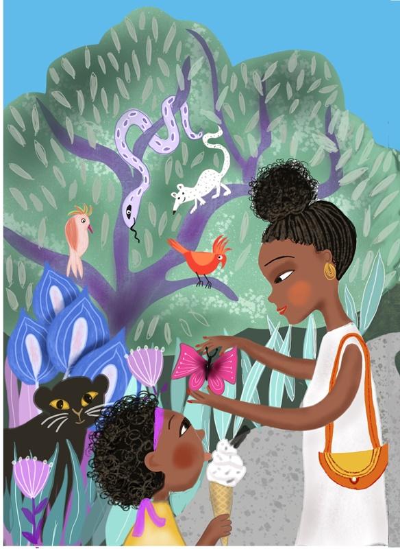 Picture Book illustration by Susanne Mason