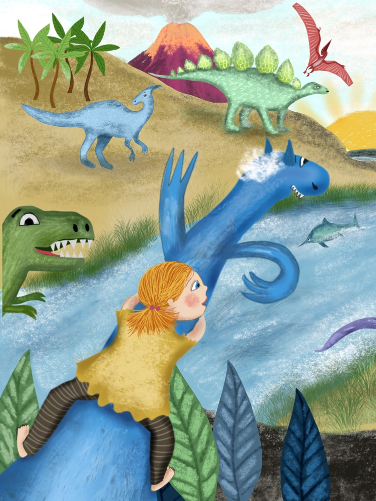 valley of the dinos, by Susanne Mason