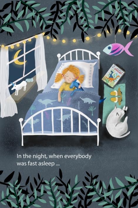 everybody was sleeping, by Susanne Mason