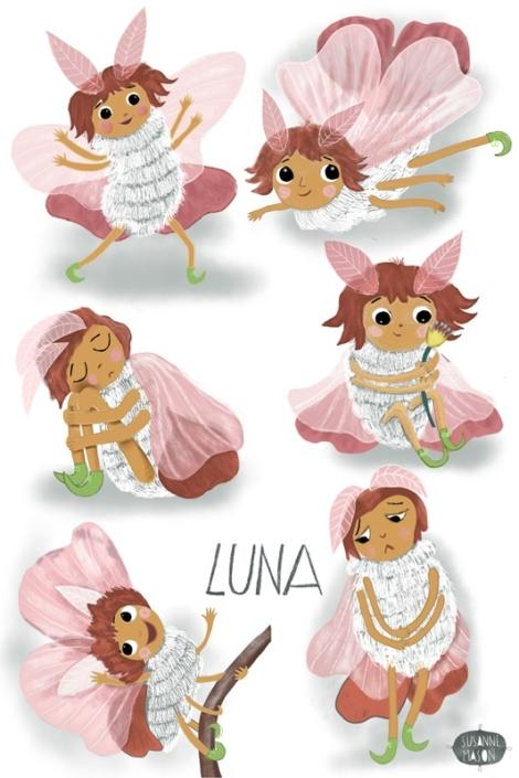 Luna's Poses, by Susanne Mason